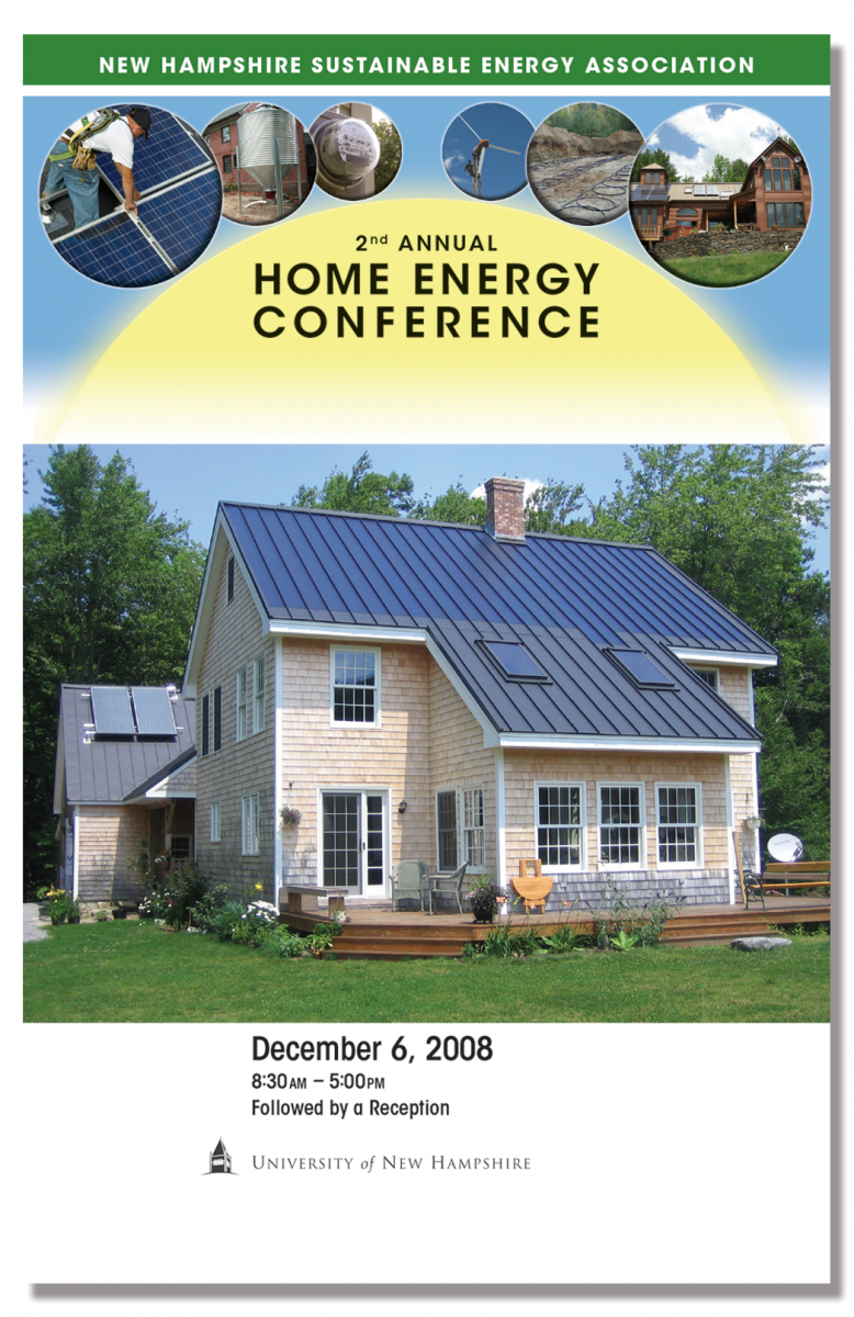 Program Cover for 2nd Annual Home Energy Conference